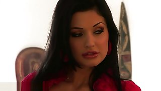 Aletta Ocean doing exercise - Behind Scenes Love ... Lisa Ann BBC Brandi
