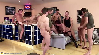 Posh moms fucked in all holes and four sheets to the wind on