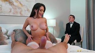 Asian floosie shows hubby proper cuckold porn