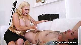 68-Year-Old Layla's First Time On-Camera - Layla Rose Increased by Tommy Pistol - 60PlusMilfs