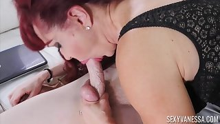 Hot Latin MILF Takes Younger Cock - SexyVanessa